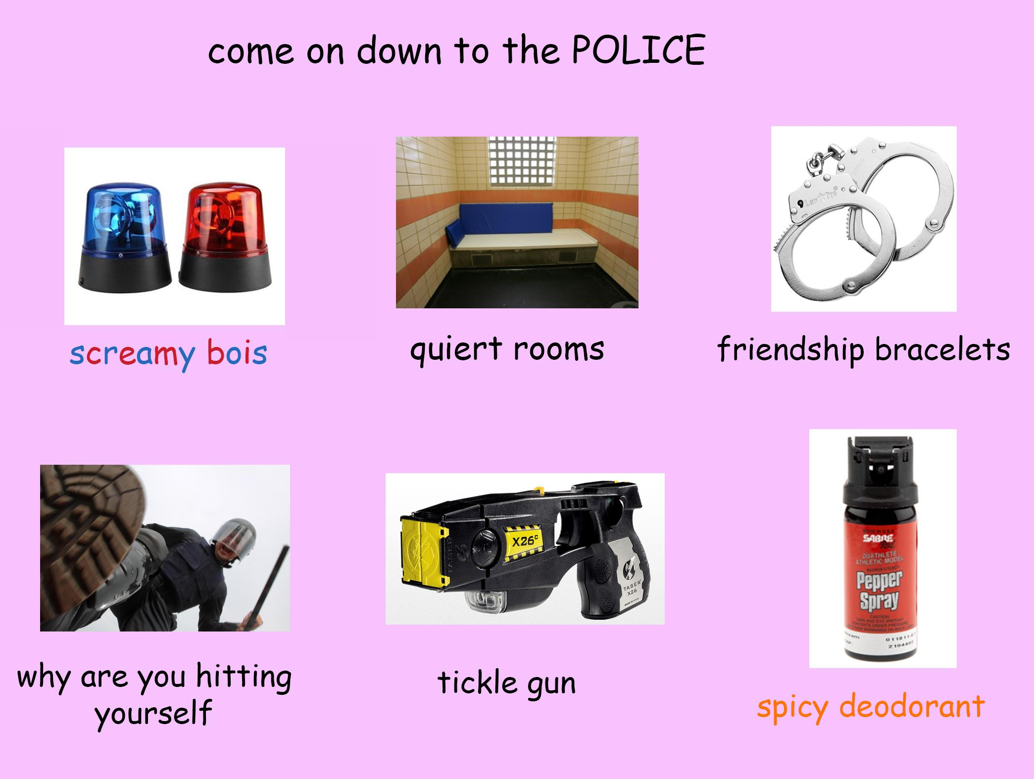 98b come on down to the police \