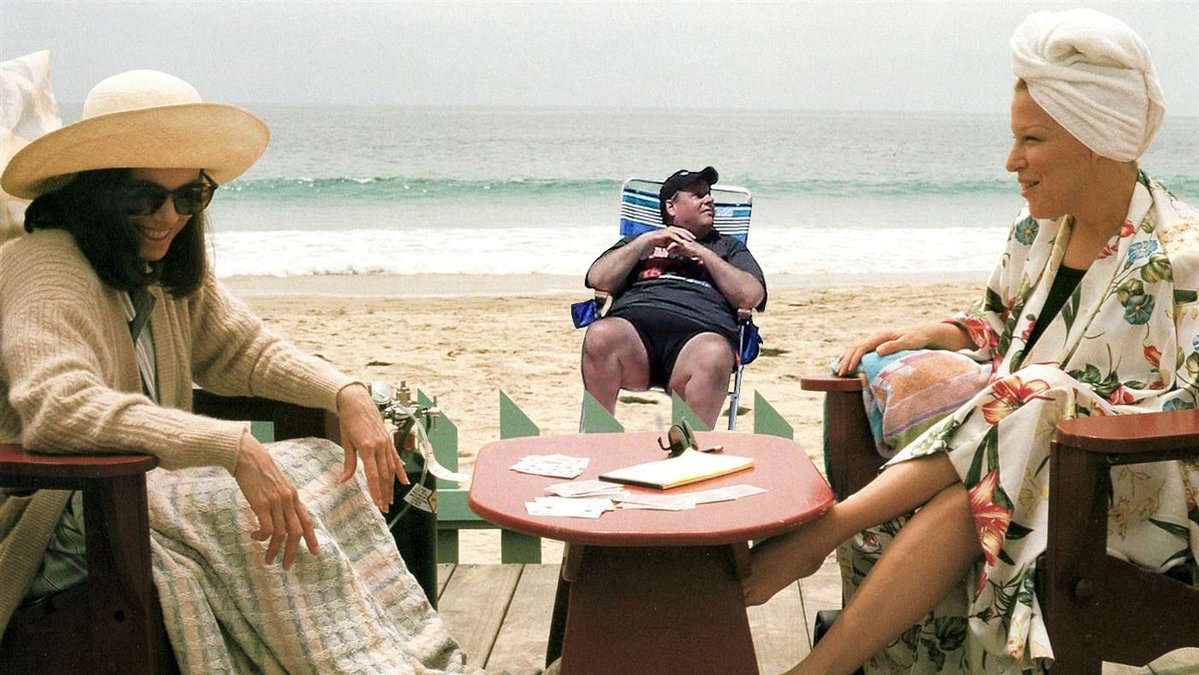 ab8 chris christie enjoying the beach chris christie beach picture