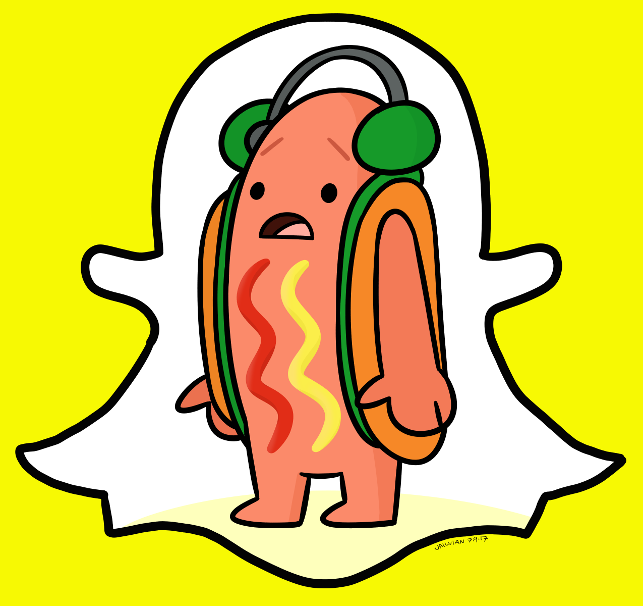645 snapchat hotdog meme fanart dancing hot dog snapchat filter know