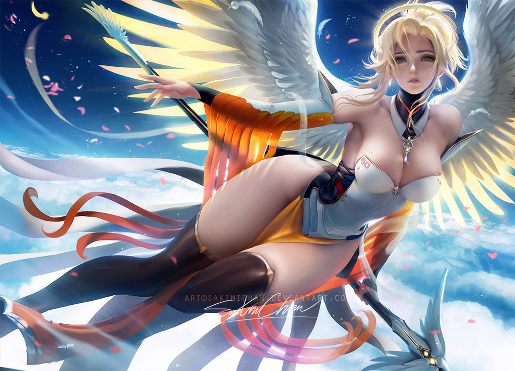 Battlegrounds Metal Bgm 1080p Youtube: Fantasy Mercy By Sakimichan
