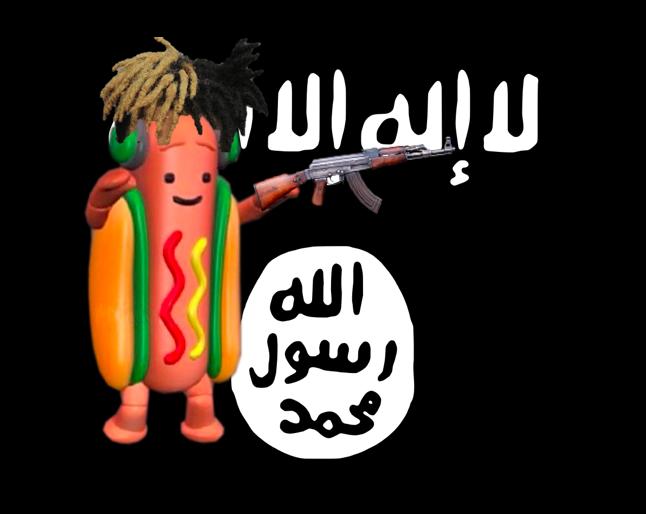 de6 dank dancing hot dog snapchat filter know your meme
