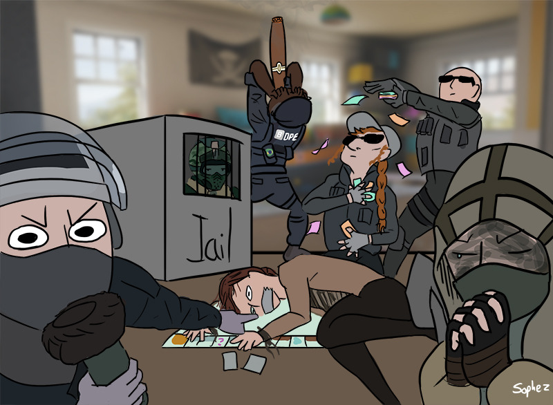 163 rs draw the squad by sophez rainbow six siege know your meme,Rainbow Six Siege Memes