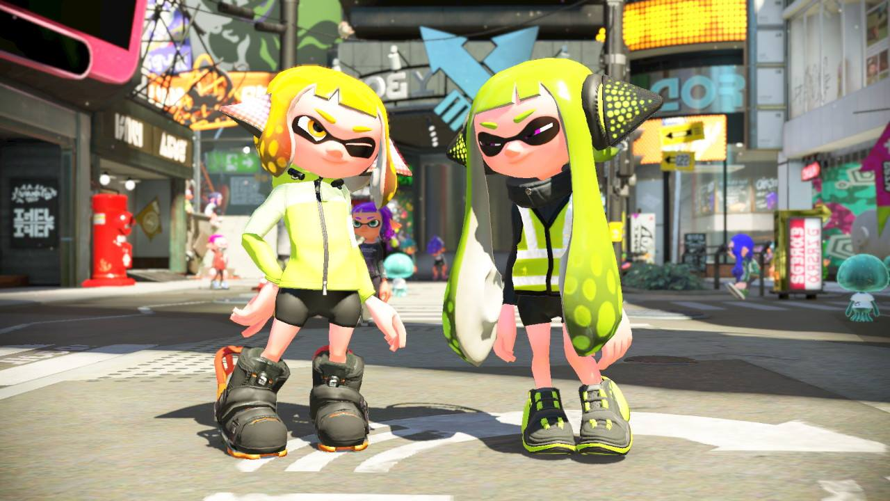 Agent 4 Amp Agent 3 Splatoon Know Your Meme