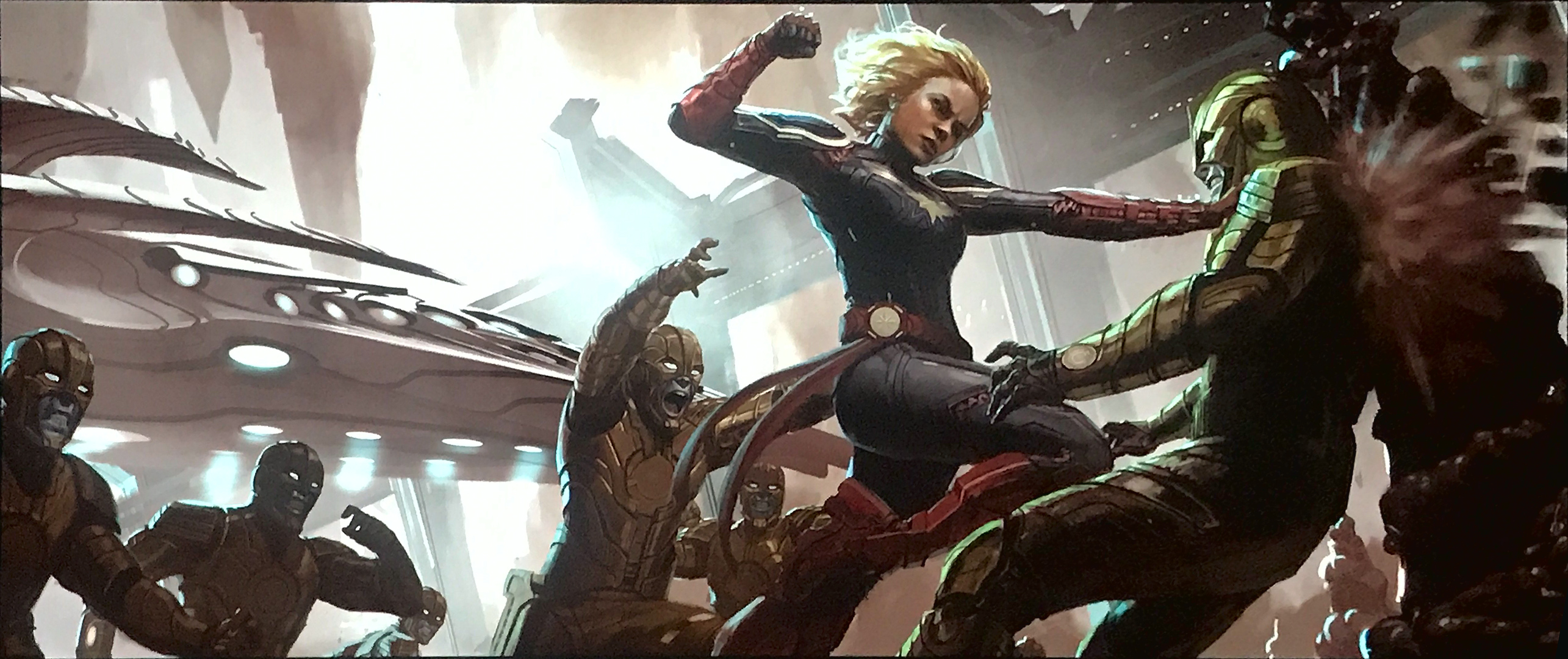 Image result for captain marvel, concept art