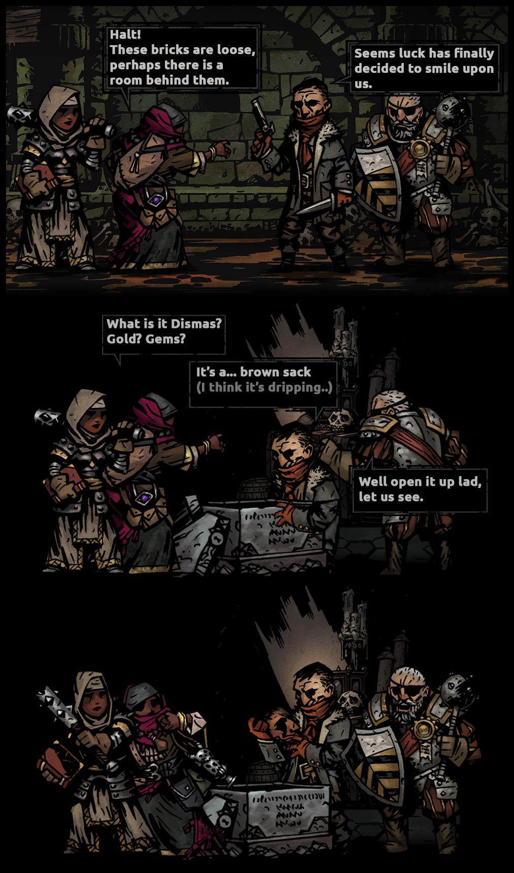 Dismas Head Darkest Dungeon Know Your Meme