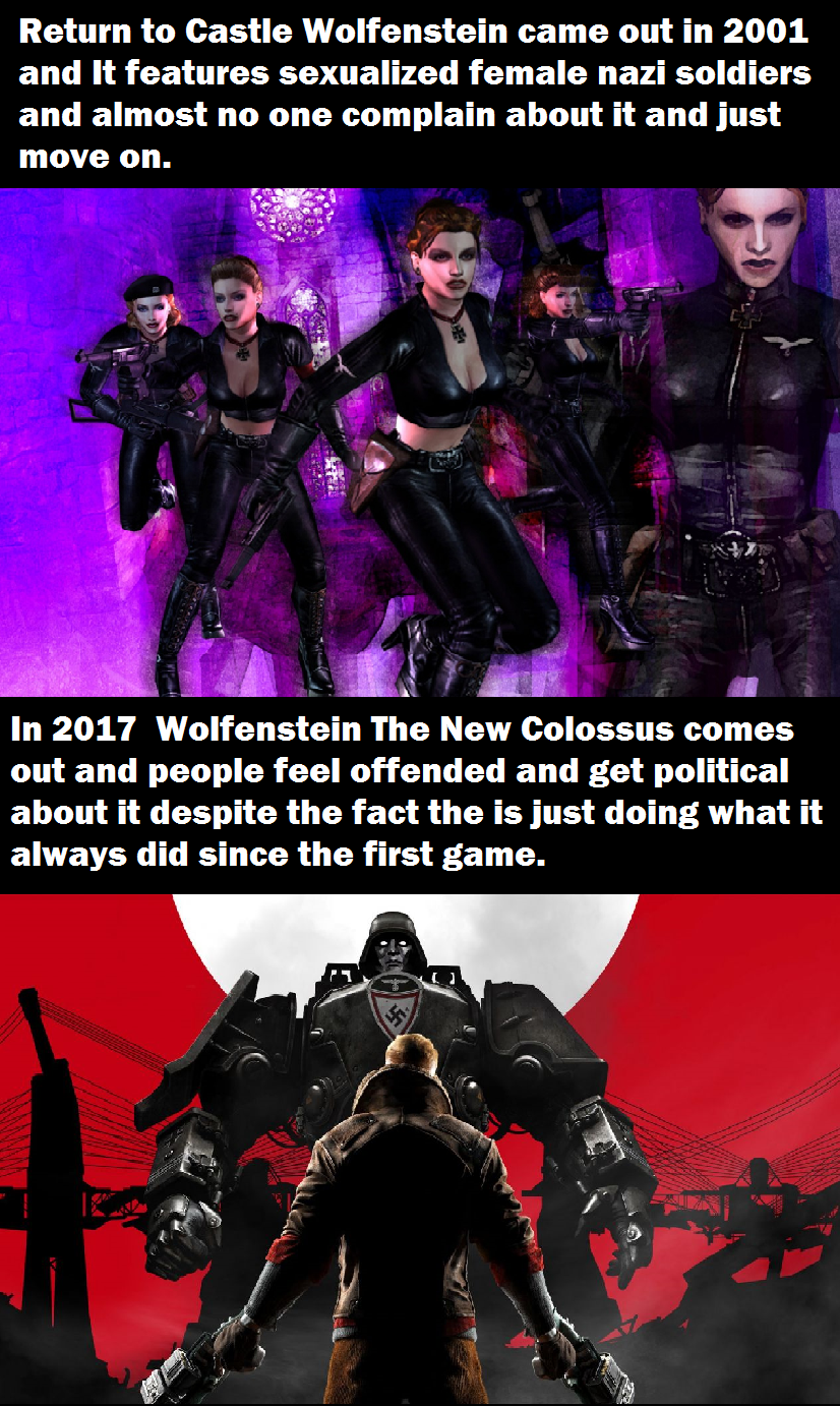 f41 times have changed wolfenstein know your meme