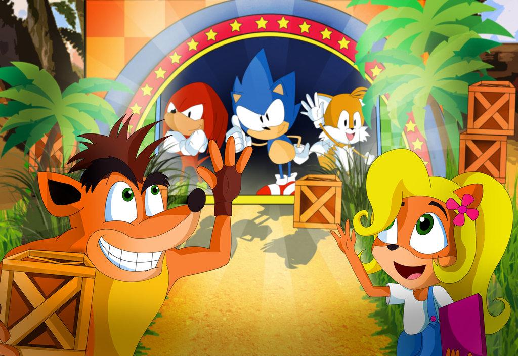 Sonic Mania Fanart