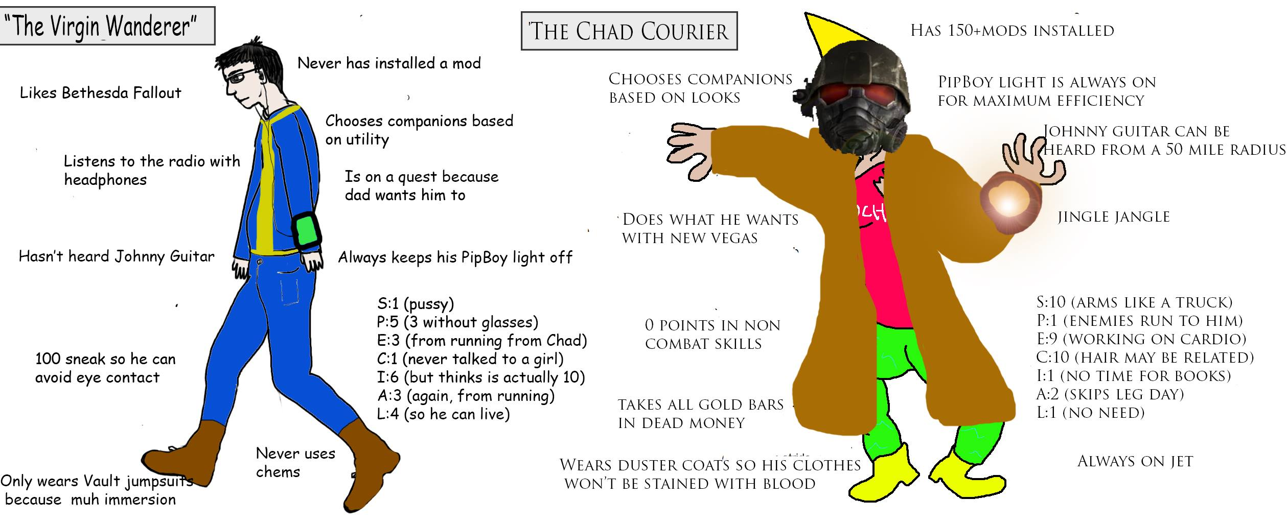 courier fallout new vegas