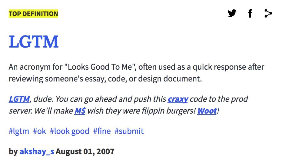 urban dictionary essays