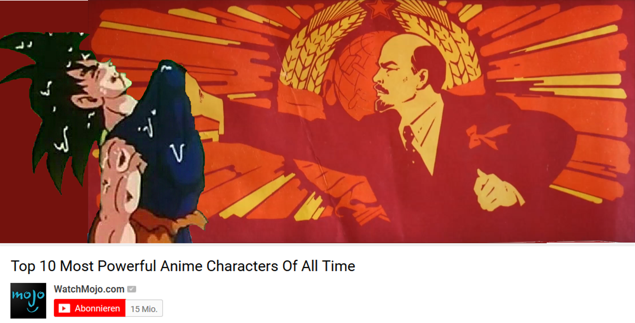 Top 10 Most Powerful Anime Characters Of All Time WatchMojo Abonnieren 15 Mio
