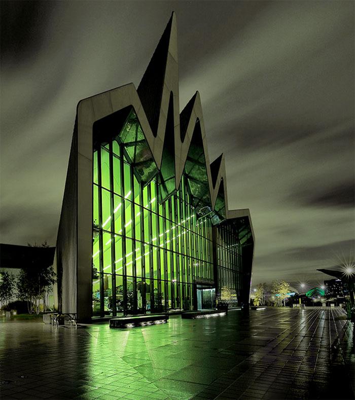Riverside Museum in Glasgow United Kingdom – Buildings & Landmarks Invitation Cards