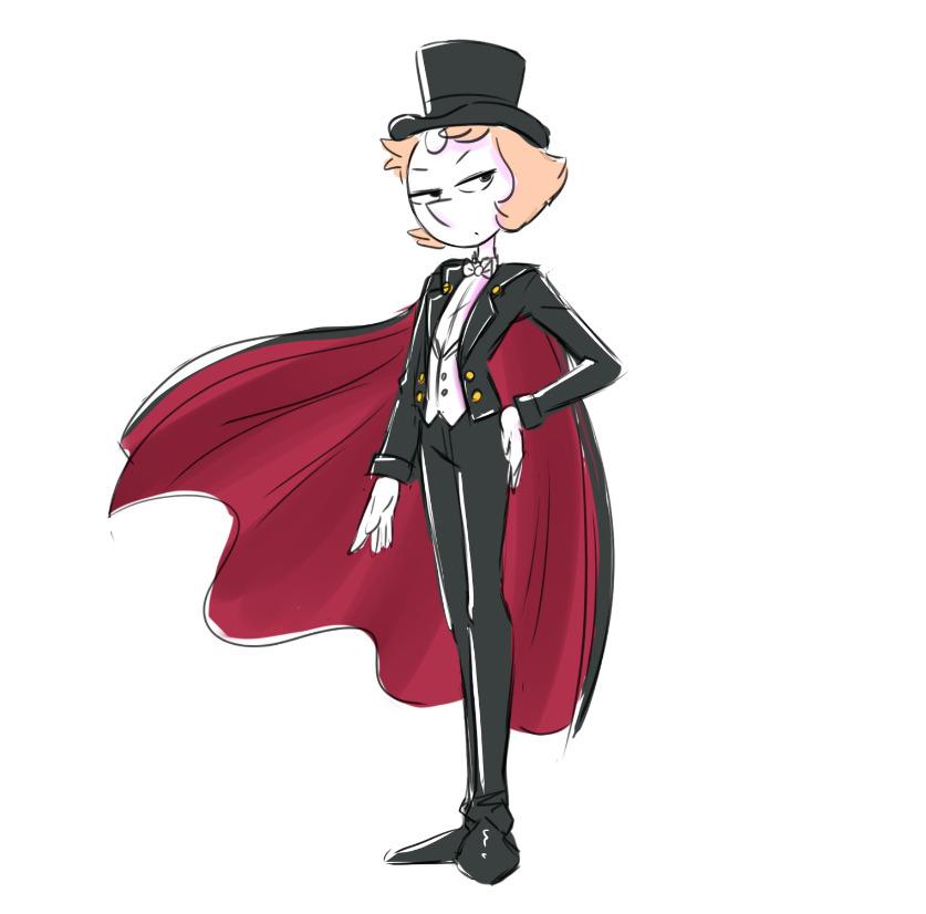 Tuxedo Mask Pearl   Steven Universe   Know Your Meme