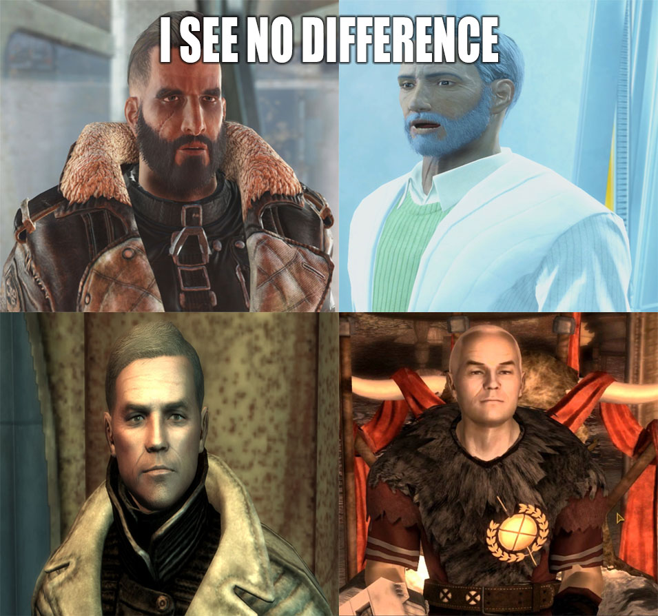 a8c i see no difference fallout know your meme