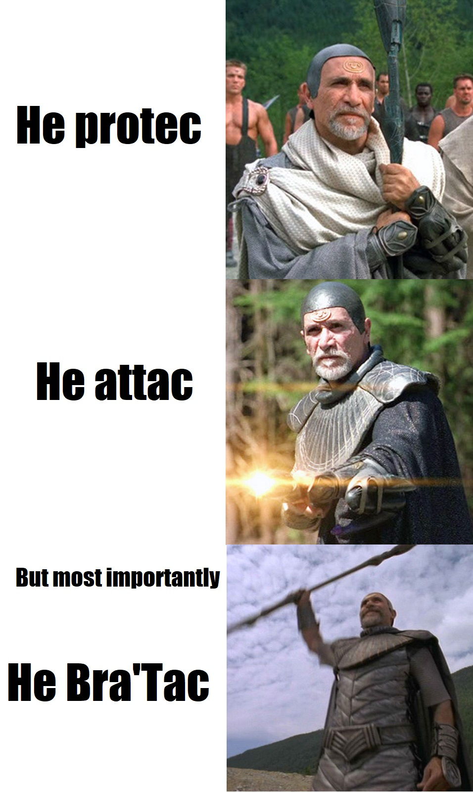 2a6 he protec but he also attac image gallery know your meme