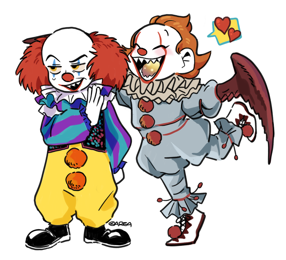 the clowns meet pennywise the clown know your meme