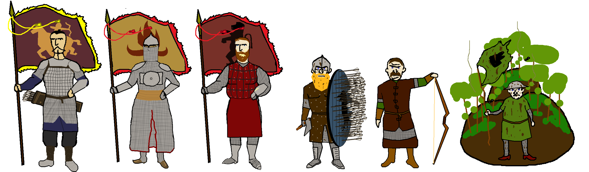 ab9 calradian flag bearers mount & blade know your meme,Mount And Blade Memes