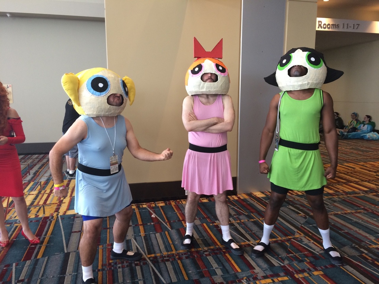 Powerpuff Posers Cosplay Know Your Meme