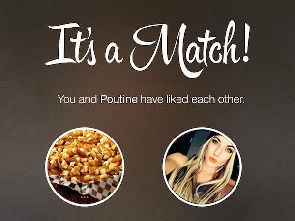 66f poutine it's a match! know your meme