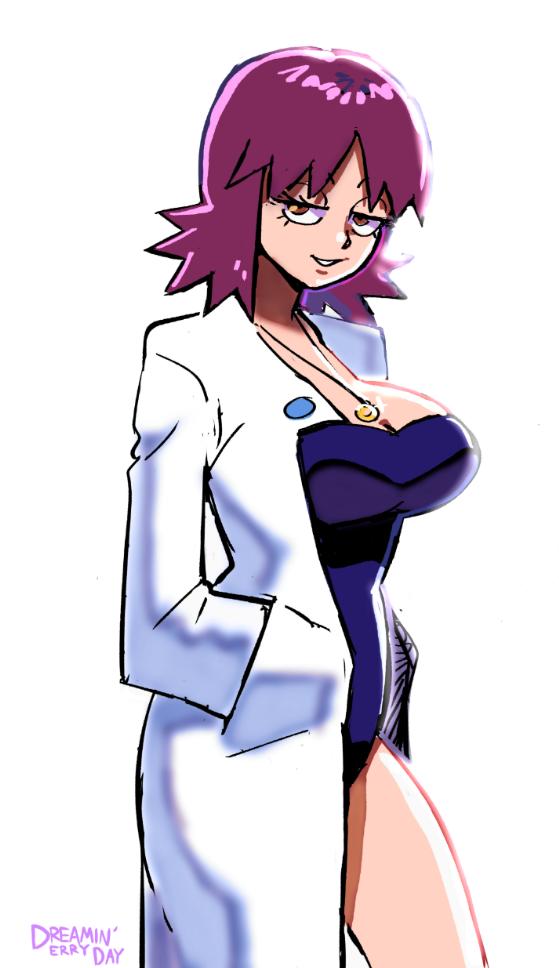 It's the Sexy, Sleepy Lookin', Tease Professor | Pokémon ...  It's the Se...