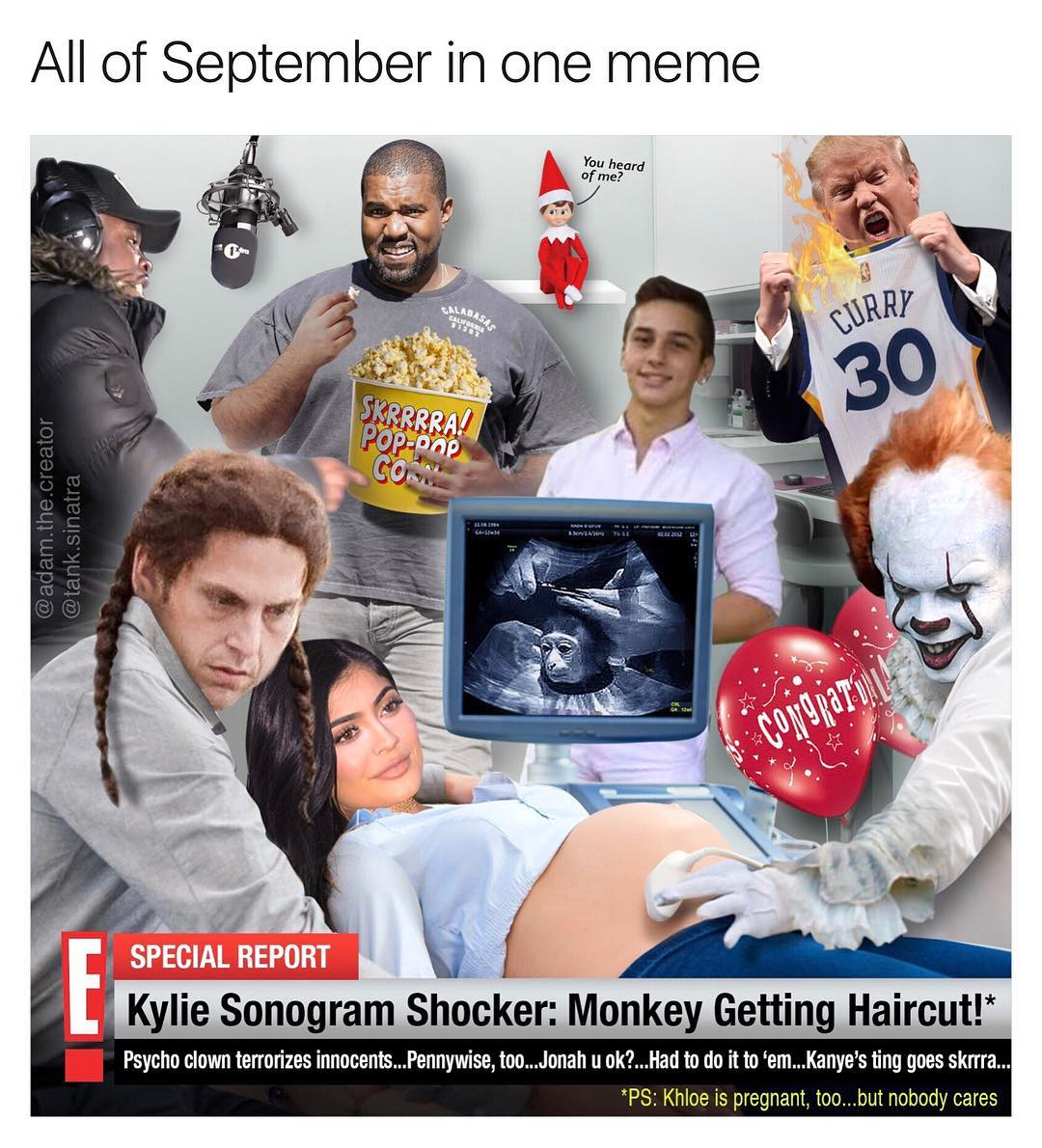 61c all of september 2017 in one meme meme overload know your meme