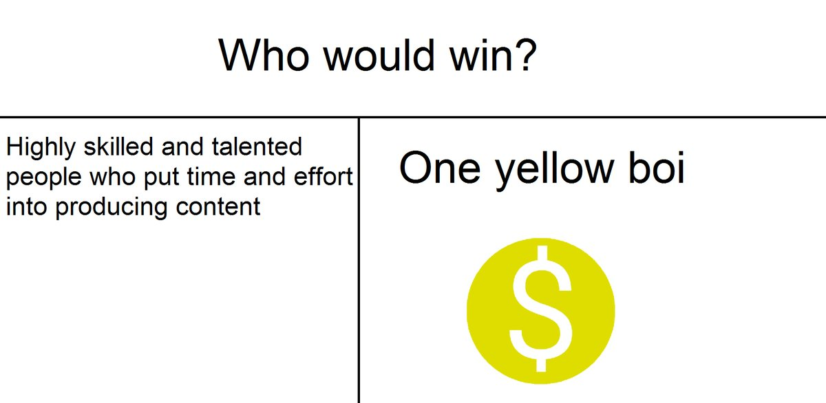 One yellow boi | Who Would Win? | Know Your Meme