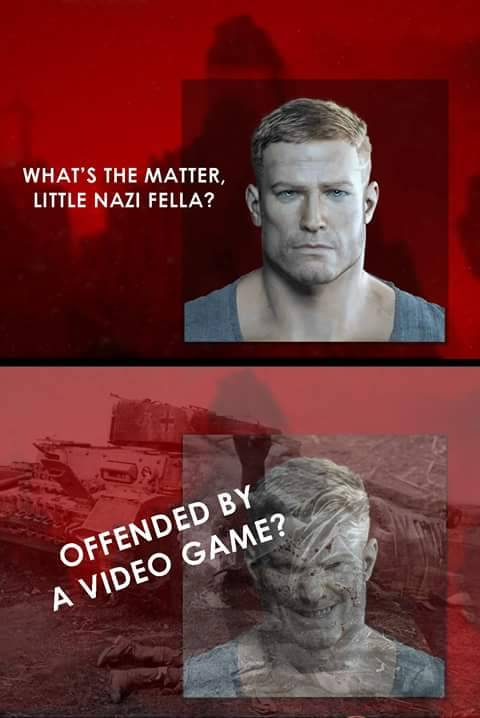 60f wwlf wolfenstein 2 the new colossus edition what's the matter