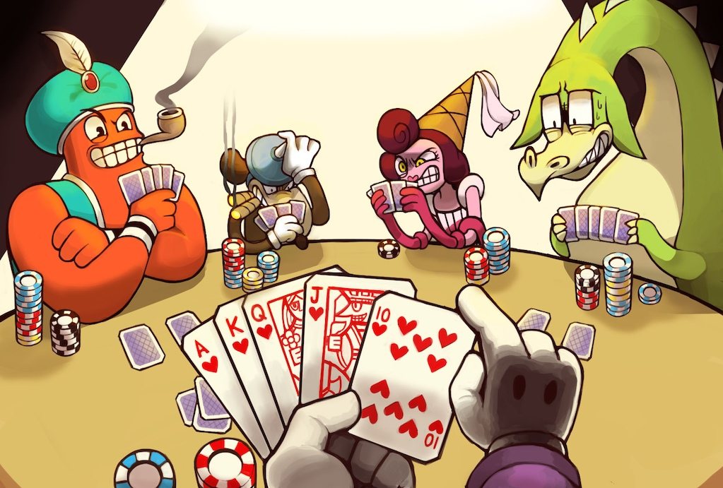 how to find people to play poker