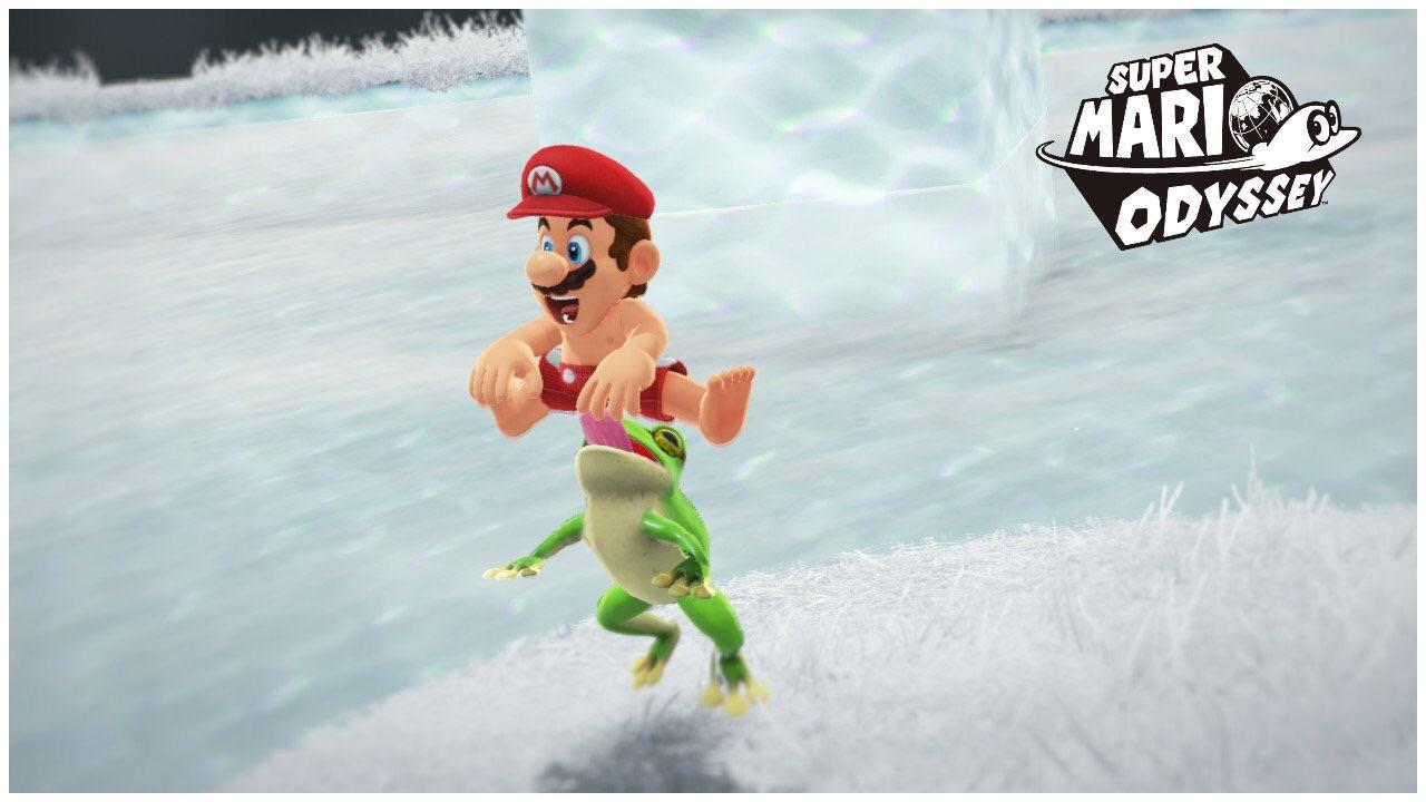 Frog Licking Mario S Butt Super Mario Odyssey Know