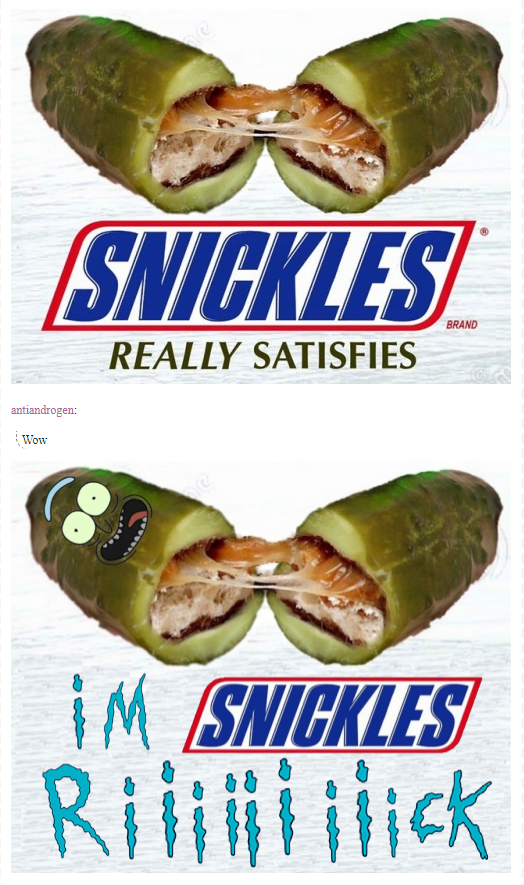 I turned myself into an unholy fusion of snack and ...