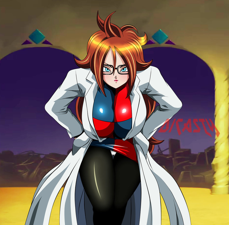 Dragon Ball Android 21: Dragon Ball FighterZ