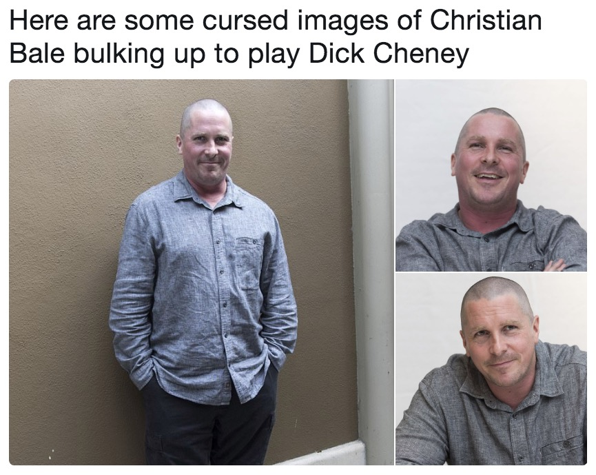 Christian Bale Is A Dick