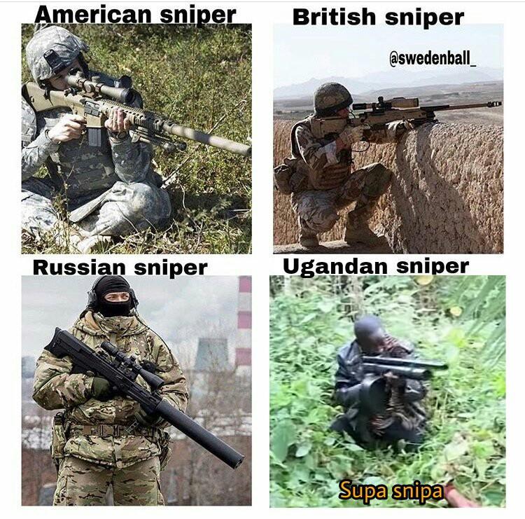 b0a uganda sniper who killed captain alex? know your meme