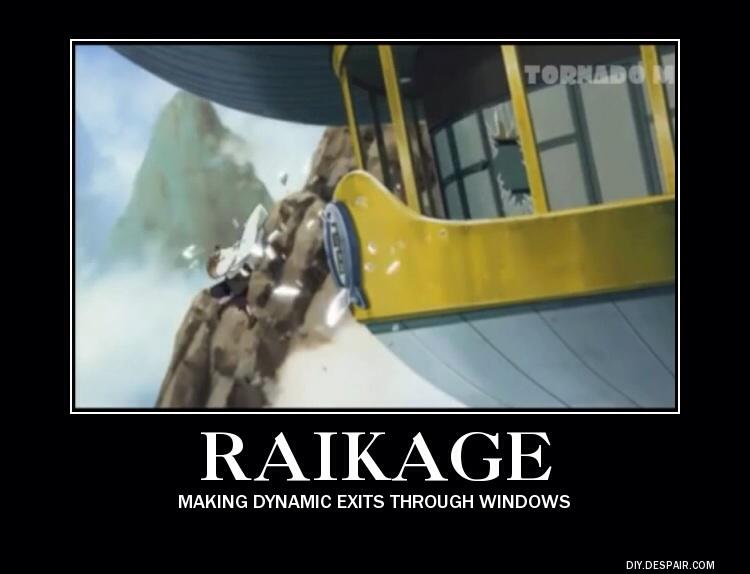 Raikage Demotivational Posters Know Your Meme
