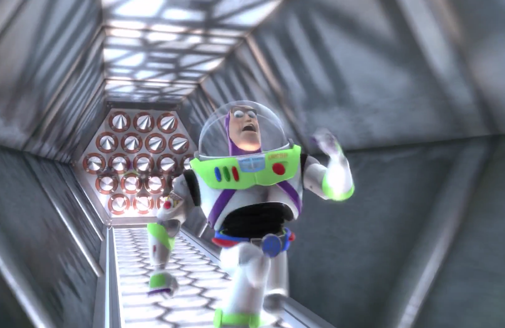 Buzz lightyear outruns spikes template buzz lightyear outruns toy technology pronofoot35fo Gallery