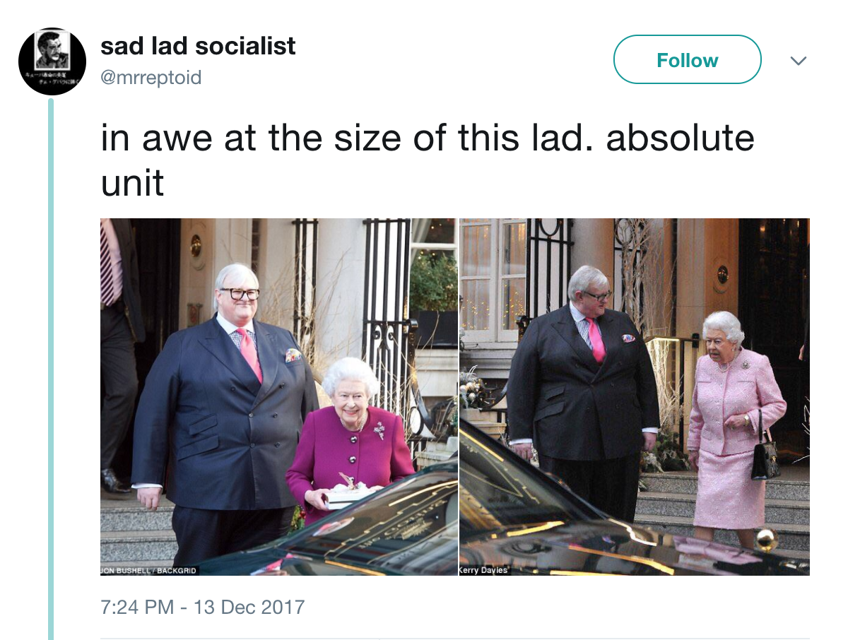 Image result for absolute unit