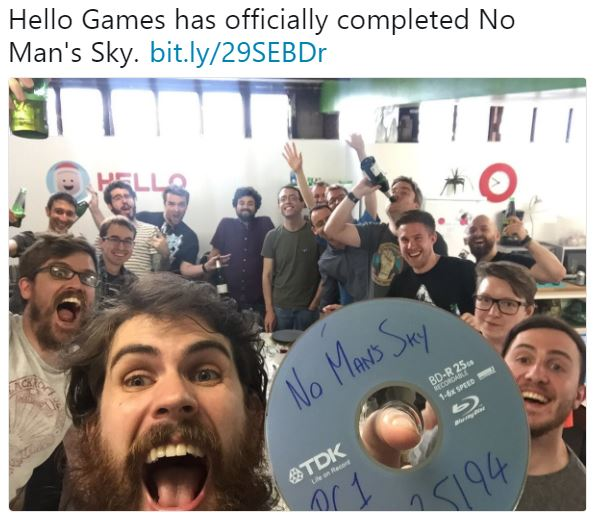 Hello Games has officially completed No Man's Sky | Nu ...
