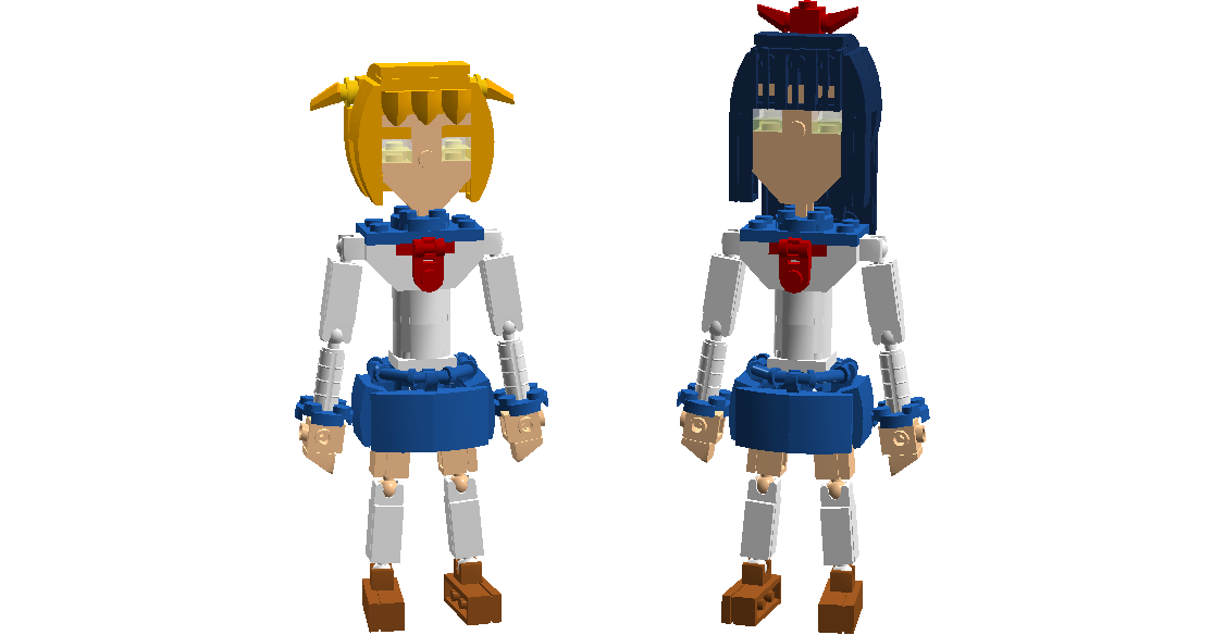 LEGO Pop Team Epic | Pop Team Epic | Know Your Meme