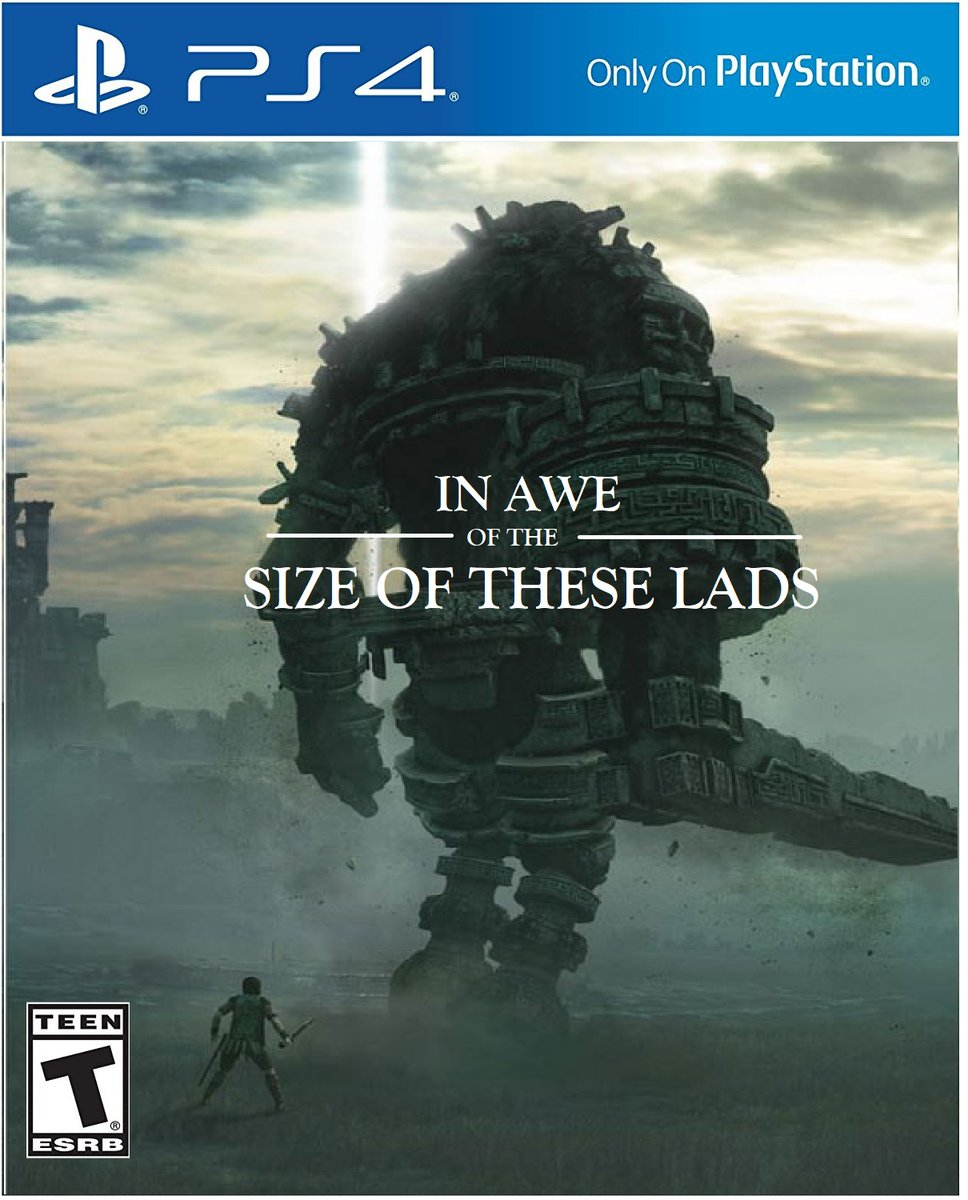 Shadow Of The Colossus | Absolute Unit | Know Your Meme