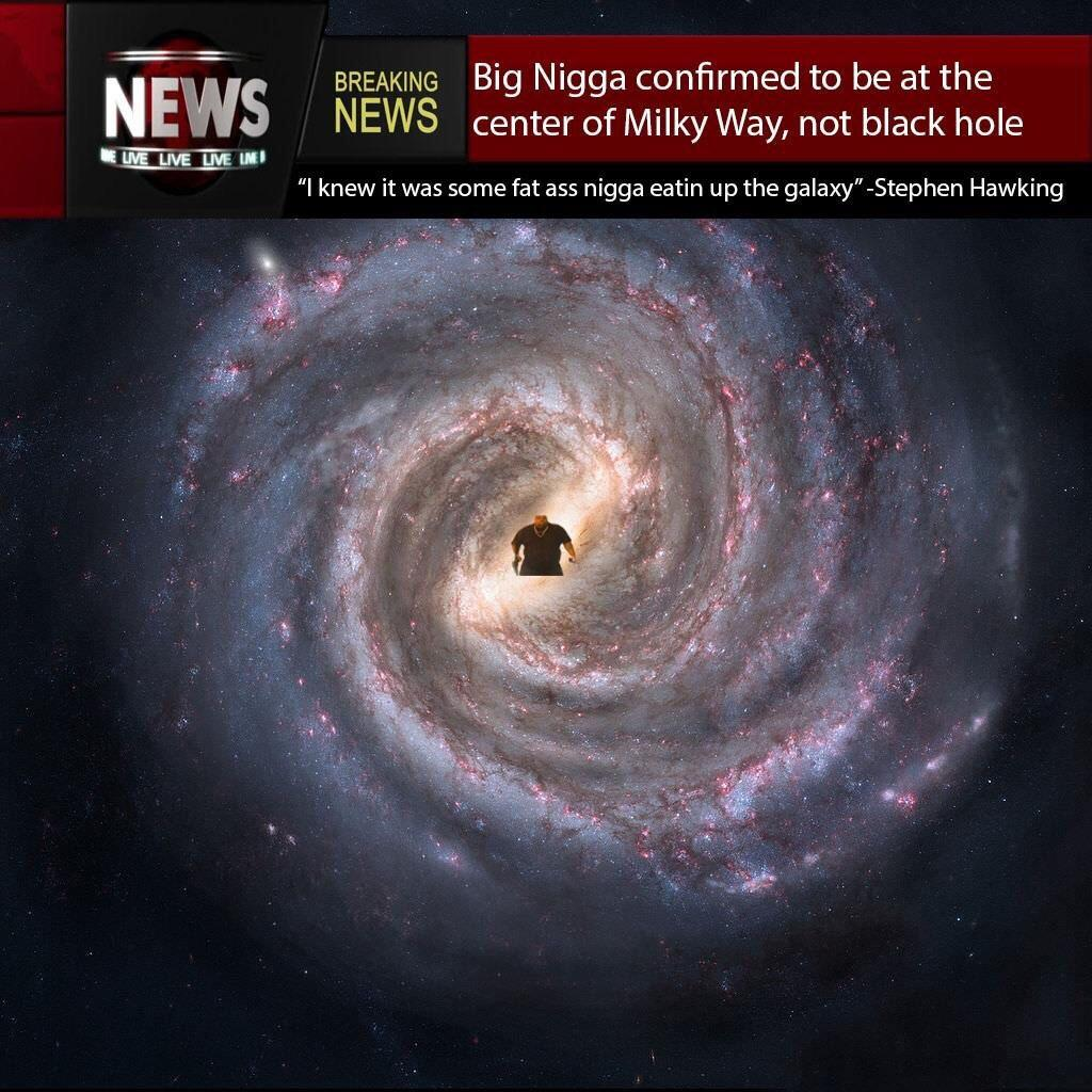 u0026quot confirmed to be at the center of milky way  not black hole u0026quot