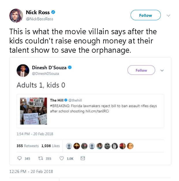 Nick Ross's Response To Dinesh D'Souza