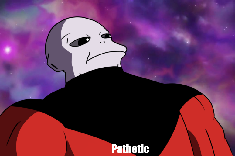 e62 90% of jiren's personality in a nutshell dragon ball know your meme