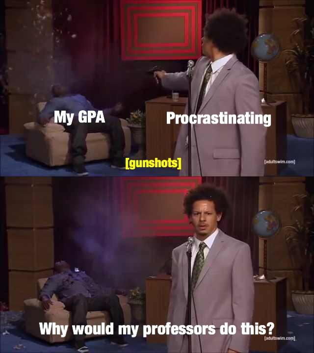 At this point in the semester   Who Killed Hannibal ...