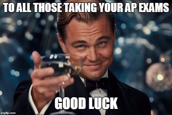 1f2 leo dicaprio ap exams know your meme