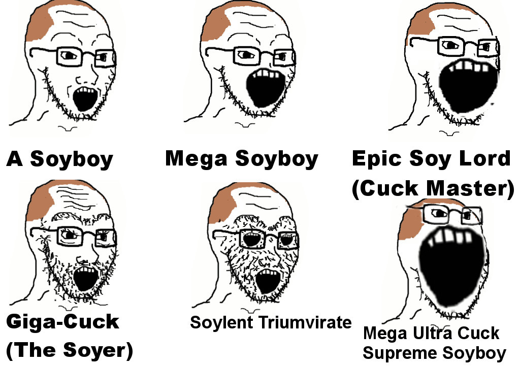 Soy Chart | Soy Boy | Know Your Meme