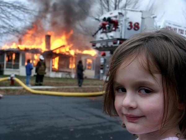 Image result for little girl fire smile