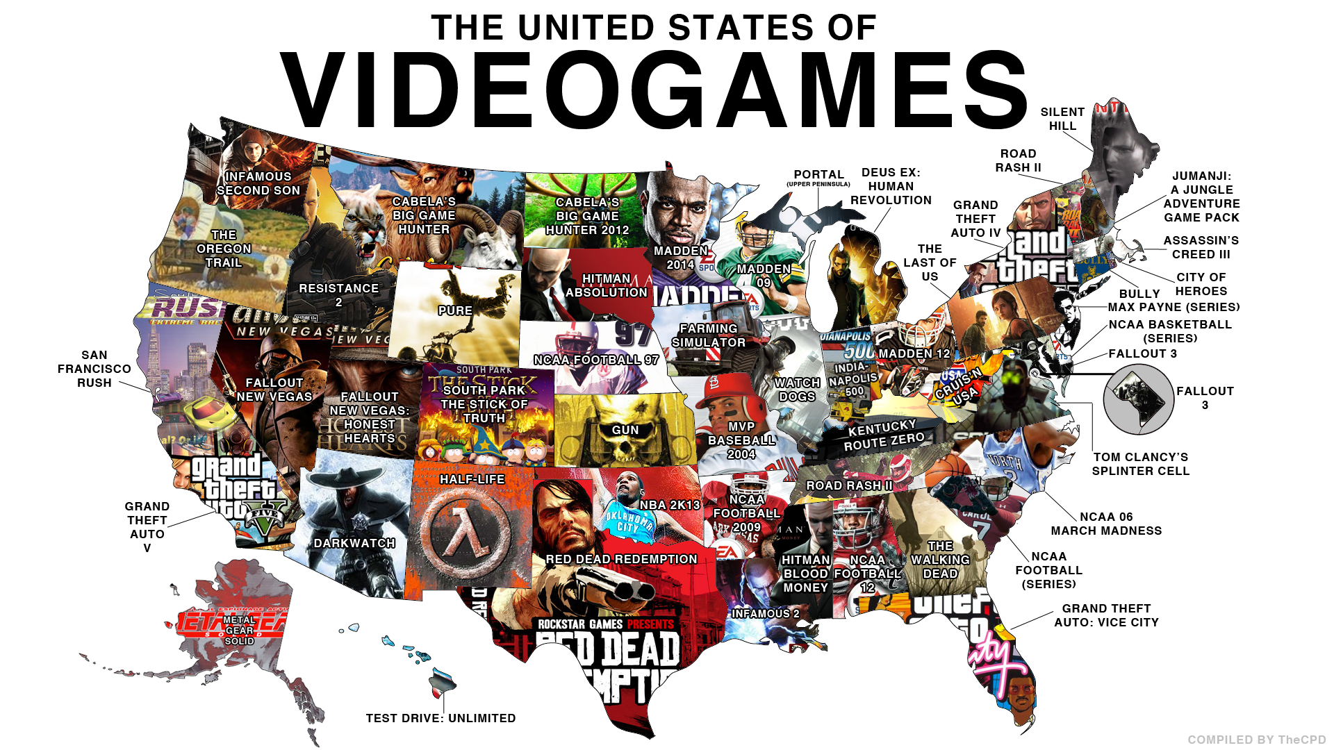 The United States of Video Games | Gaming | Know Your Meme