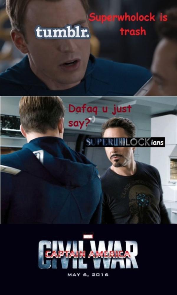 Captain America Log Meme