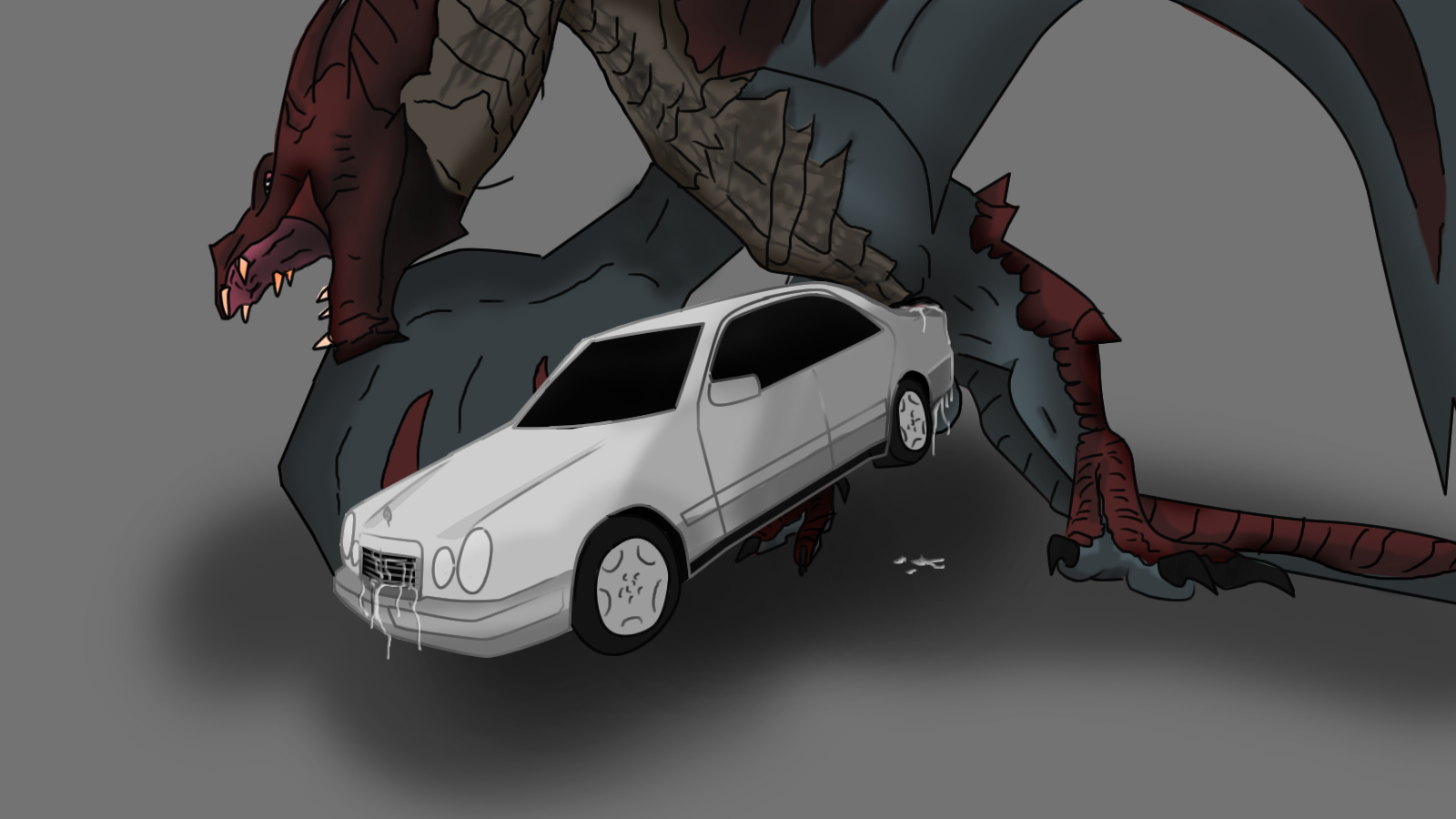 hot female dragons having sex with cars