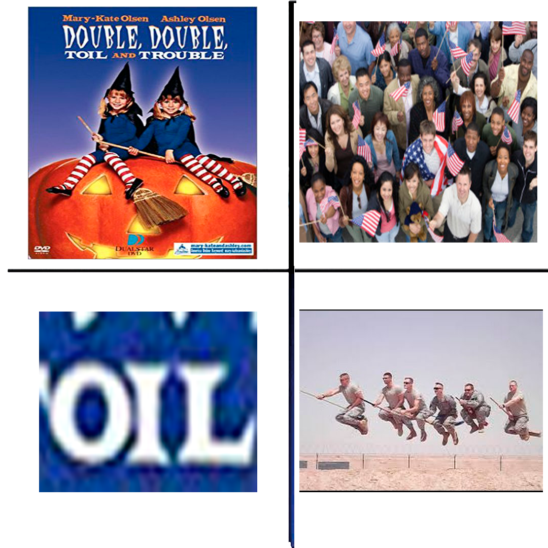 Double Trouble | America Invading for Oil | Know Your Meme