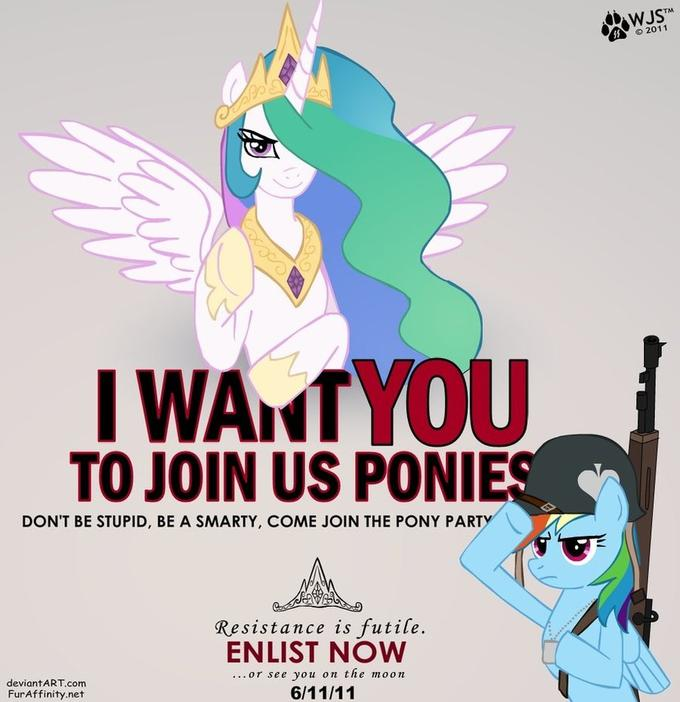 i_want_you_to_join_us_ponies_by_wolfjedi